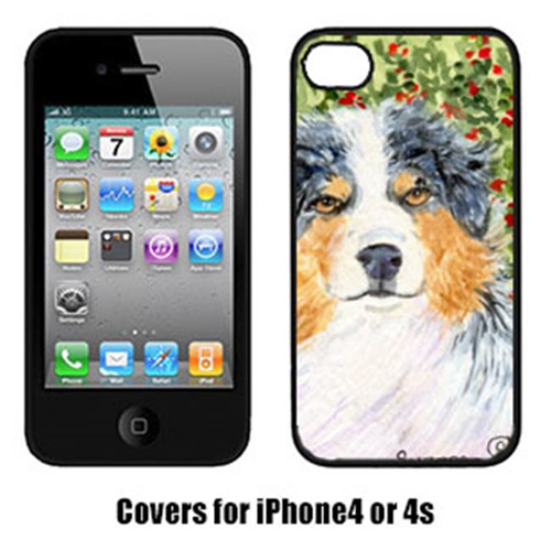Carolines Treasures SS8848IP4 Australian Shepherd Cell Phone Cover Iphone4