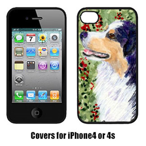 Carolines Treasures SS8845IP4 Australian Shepherd Cell Phone Cover Iphone4