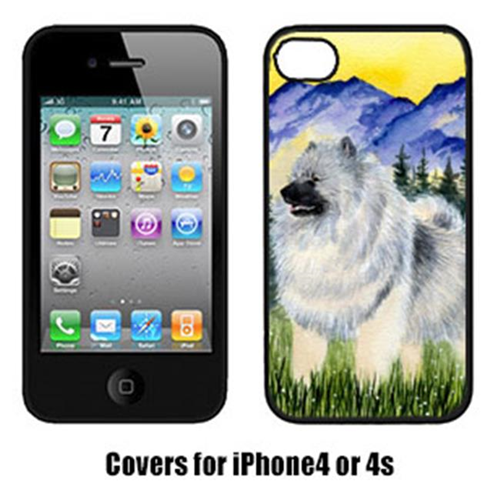 Carolines Treasures SS8323IP4 Keeshond Cell Phone cover IPhone 4