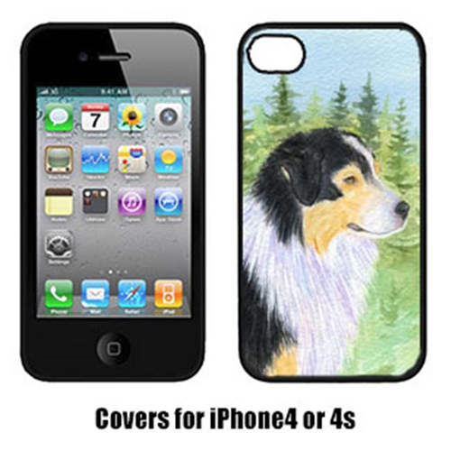Carolines Treasures SS8316IP4 Australian Shepherd Cell Phone cover IPhone 4