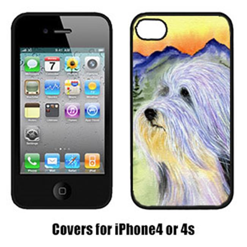 Carolines Treasures SS8244IP4 Bearded Collie Cell Phone cover IPhone 4