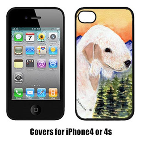 Carolines Treasures SS8158IP4 Bedlington Terrier Cell Phone cover IPhone 4