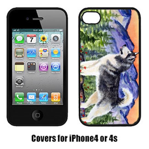 Carolines Treasures SS8157IP4 Alaskan Malamute Cell Phone cover IPhone 4