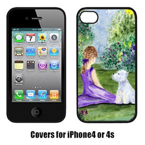 Carolines Treasures SS8246IP4 Westie Cell Phone cover IPhone 4