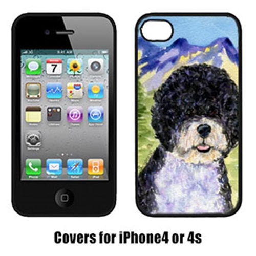 Carolines Treasures SS8303IP4 Portuguese Water Dog Cell Phone cover IPhone 4