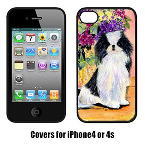 Carolines Treasures SS8299IP4 Japanese Chin Cell Phone cover IPhone 4