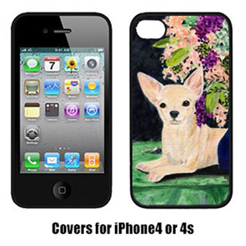 Carolines Treasures SS8289IP4 Chihuahua Cell Phone cover IPhone 4