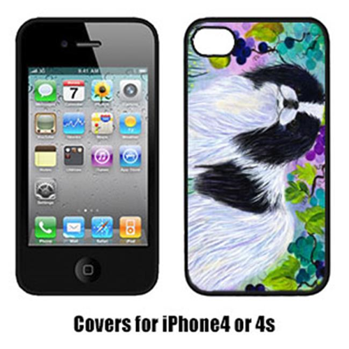 Carolines Treasures SS8270IP4 Japanese Chin Cell Phone cover IPhone 4