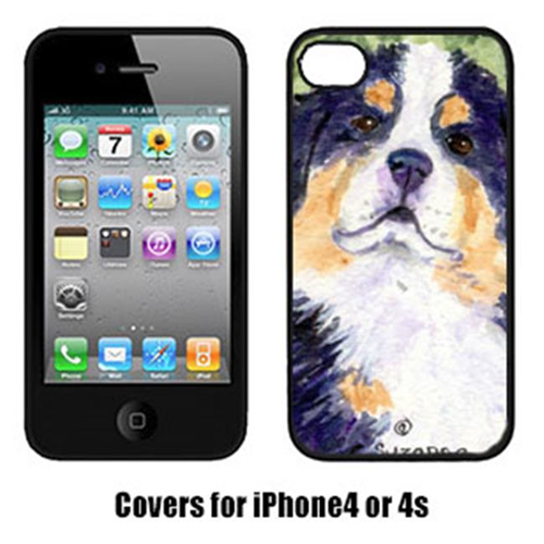 Carolines Treasures SS8837IP4 Bernese Mountain Dog Iphone 4 Cover