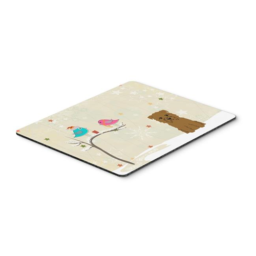 Carolines Treasures BB2532MP Christmas Presents Between Friends Glen of Imal Tan Mouse Pad Hot Pad or Trivet