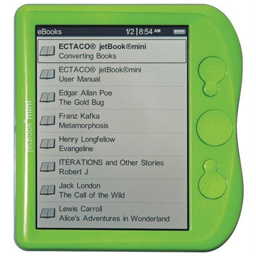 Ectaco Jbm-Lg Jetbook Mini Ebook Reader Lime Green