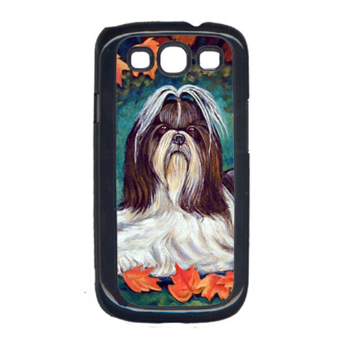 Carolines Treasures 7182GALAXYSIII Autumn Leaves Shih Tzu Cell Phone Cover Galaxy S111