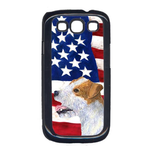 Carolines Treasures SS4031GALAXYS3 USA American Flag with Jack Russell Terrier Cell Phone Cover GALAXY S111
