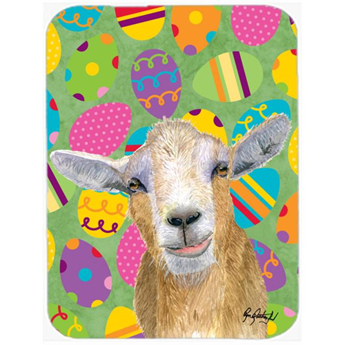 Carolines Treasures RDR3021MP 7.75 x 9.25 In. Eggtravaganza Goat Easter Mouse Pad Hot Pad or Trivet