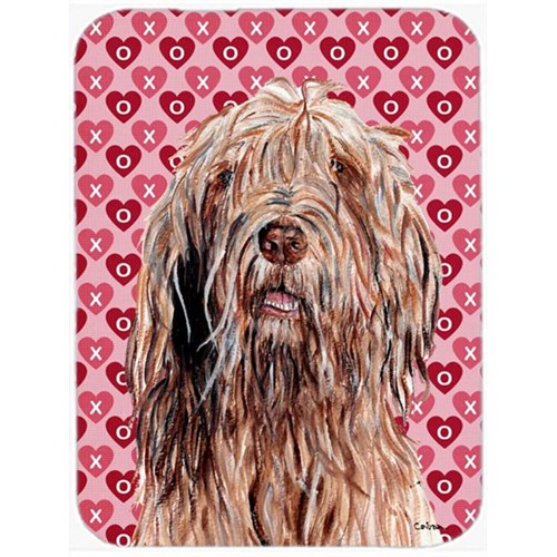 Carolines Treasures SC9709MP Otterhound Hearts And Love Mouse Pad Hot Pad Or Trivet 7.75 x 9.25 In.