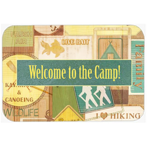 Carolines Treasures SB3080MP 7.75 x 9.25 In. Welcome To The Camp Mouse Pad Hot Pad Or Trivet