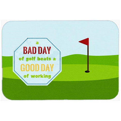 Carolines Treasures SB3091MP 7.75 x 9.25 In. A Bad Day At Golf Mouse Pad Hot Pad Or Trivet