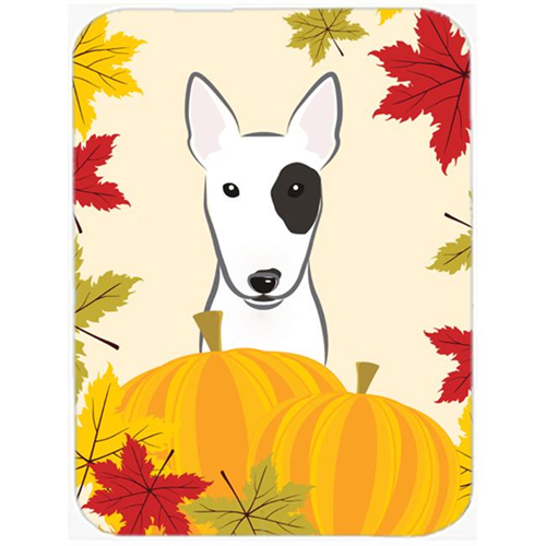 Carolines Treasures BB2015MP Bull Terrier Thanksgiving Mouse Pad Hot Pad or Trivet