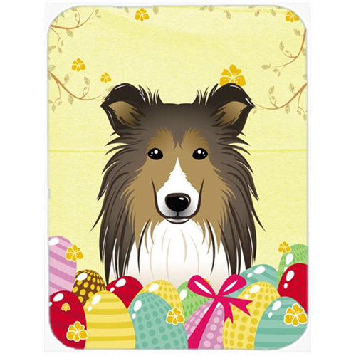 Carolines Treasures BB1924MP Sheltie Easter Egg Hunt Mouse Pad Hot Pad or Trivet