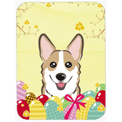 Carolines Treasures BB1935MP Sable Corgi Easter Egg Hunt Mouse Pad Hot Pad or Trivet