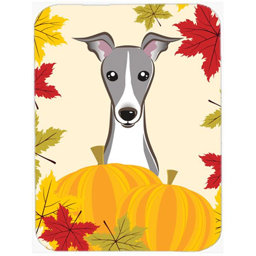 Carolines Treasures BB2042MP Italian Greyhound Thanksgiving Mouse Pad Hot Pad or Trivet