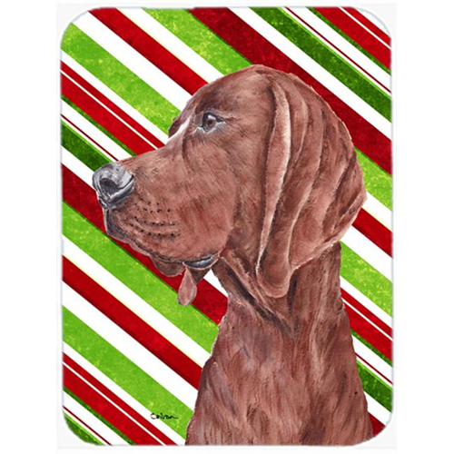Carolines Treasures SC9803MP Redbone Coonhound Candy Cane Christmas Mouse Pad Hot Pad Or Trivet 7.75 x 9.25 In.