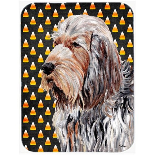 Carolines Treasures SC9660MP Otterhound Candy Corn Halloween Mouse Pad Hot Pad Or Trivet 7.75 x 9.25 In.