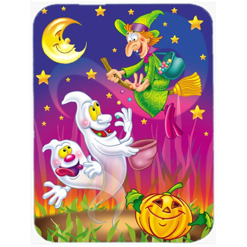 Carolines Treasures APH3799MP Witch & Ghosts Halloween Mouse Pad Hot Pad or Trivet