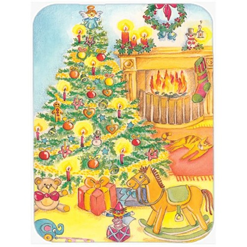 Carolines Treasures APH2024MP Toys Around the Christmas Tree Mouse Pad Hot Pad or Trivet