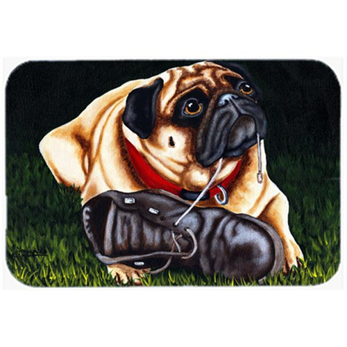 Carolines Treasures AMB1382MP Cluster Buster the Pug Mouse Pad Hot Pad or Trivet