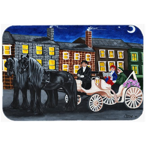 Carolines Treasures AMB1409MP City Carriage Ride Horse Mouse Pad Hot Pad or Trivet