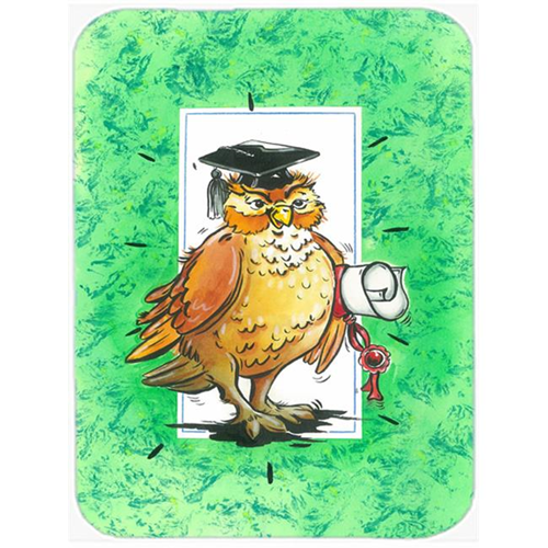 Carolines Treasures APH8469MP Graduation the Wise Owl Mouse Pad Hot Pad or Trivet