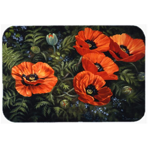Carolines Treasures BDBA0007MP Poppies by Daphne Baxter Mouse Pad Hot Pad or Trivet