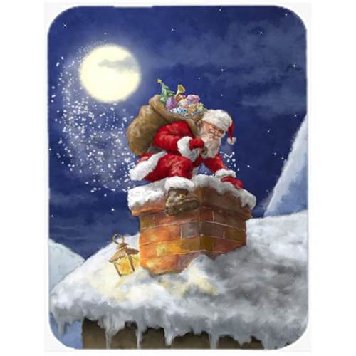 Carolines Treasures APH5479MP Christmas Santa Claus in the Chimney Mouse Pad Hot Pad or Trivet