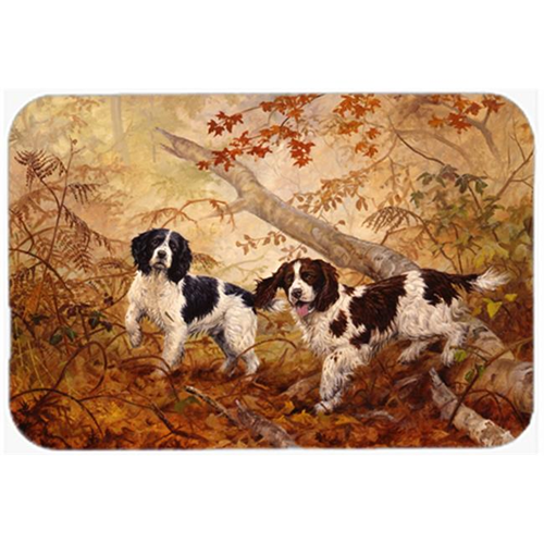 Carolines Treasures HEH0139MP Springer Spaniels by Elizabeth Halstead Mouse Pad Hot Pad or Trivet
