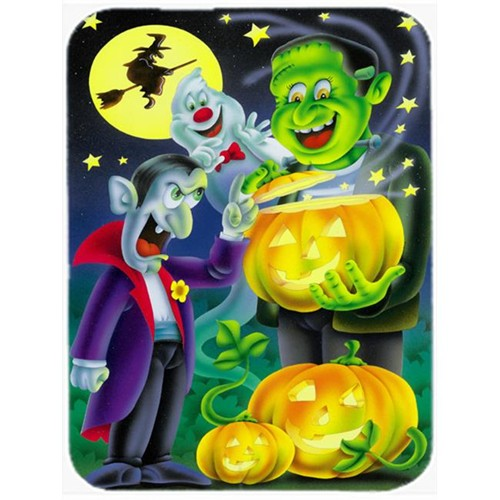 Carolines Treasures APH0935MP Halloween with Dracula & Frankenstein Mouse Pad Hot Pad or Trivet