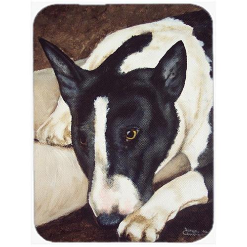 Carolines Treasures AMB1030MP Bull Terrier by Tanya & Craig Amberson Mouse Pad Hot Pad or Trivet