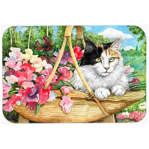 Carolines Treasures CDCO0178MP Cat in Basket Mouse Pad Hot Pad or Trivet