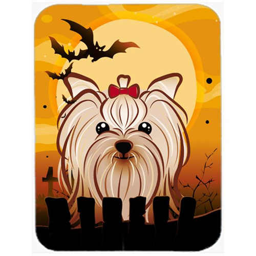 Carolines Treasures BB1762MP Halloween Yorkie Yorkishire Terrier Mouse Pad Hot Pad & Trivet