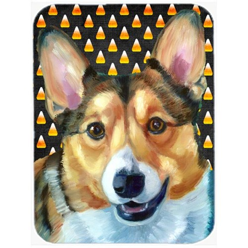 Carolines Treasures LH9553MP Corgi Candy Corn Halloween Mouse Pad Hot Pad & Trivet