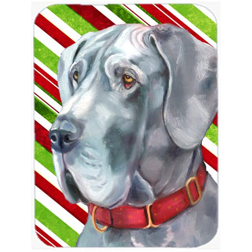 Carolines Treasures LH9591MP Great Dane Candy Cane Holiday Christmas Mouse Pad Hot Pad & Trivet