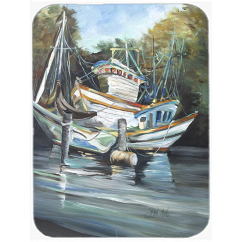 Carolines Treasures JMK1152MP Shrimpers Cove And Shrimp Boats Mouse Pad Hot Pad & Trivet