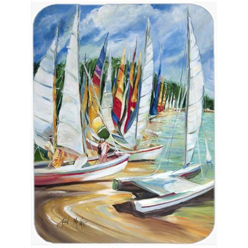 Carolines Treasures JMK1162MP Eastern Shore Sailboats Mouse Pad Hot Pad & Trivet