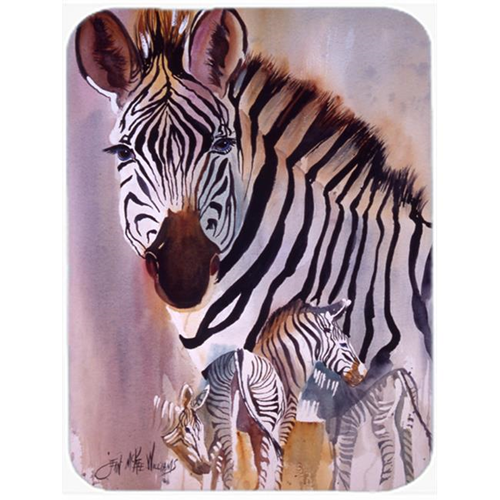 Carolines Treasures JMK1197MP Zebras Mouse Pad Hot Pad & Trivet