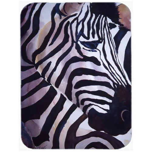 Carolines Treasures JMK1198MP Zebra Head Mouse Pad Hot Pad & Trivet