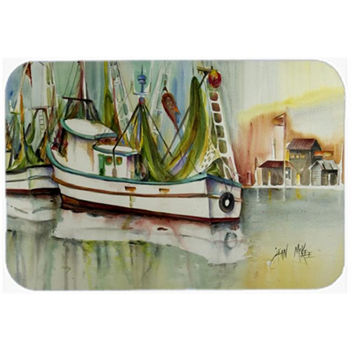 Carolines Treasures JMK1068MP Ocean Springs Shrimper Mouse Pad Hot Pad & Trivet