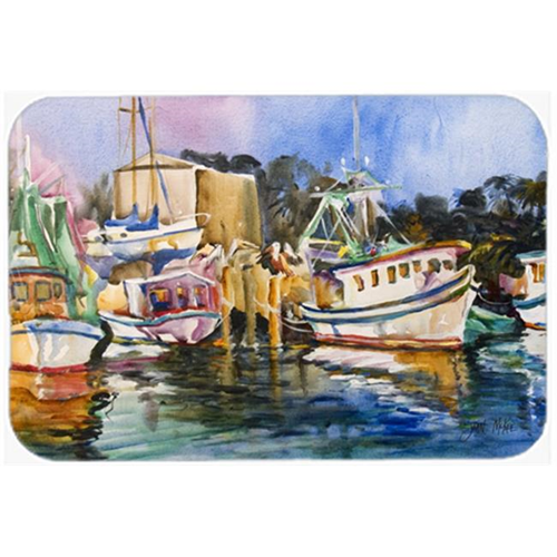 Carolines Treasures JMK1079MP Shrimp Boat Warehouse Mouse Pad Hot Pad & Trivet