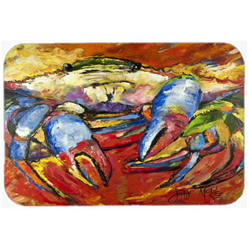 Carolines Treasures JMK1107MP Blue Crab Red Mouse Pad Hot Pad & Trivet