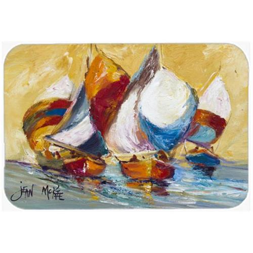 Carolines Treasures JMK1029MP Boat Race Mouse Pad Hot Pad & Trivet