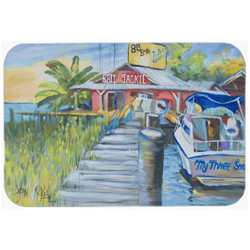 Carolines Treasures JMK1050MP Deep Sea Fishing Boat At Lulus Mouse Pad Hot Pad & Trivet